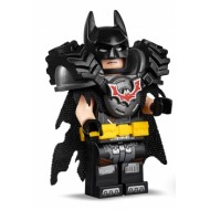 LEGO The LEGO Movie Minifigures - Batman - Battle Ready, Tire Armor, Tattered Cape, Yellow Utility Belt