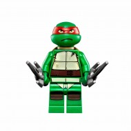 LEGO Teenage Mutant Ninja Turtles Minifigures - Raphael with weapons