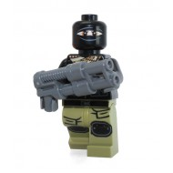LEGO Teenage Mutant Ninja Turtles Minifigures - Foot Soldier, Olive Green Legs, Terrorist