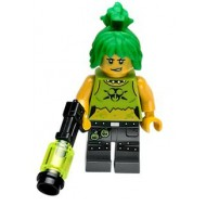 LEGO Ultra Agents Minifigures - Toxikita  with weapon