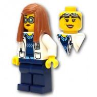 LEGO Ultra Agents Minifigures - Professor Christina Hydron