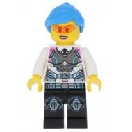 LEGO Ultra Agents Minifigures - Agent Caila Phoenix - Dark Azure Hair