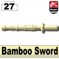Minifigcat Bamboo Sword - TAN