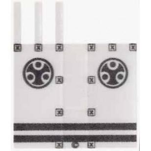 Minifigcat Paste - Kabuki flag cloth (K01)