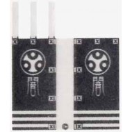 Minifigcat Paste - Kabuki flag cloth (K02)