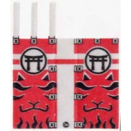 Minifigcat Paste - Kabuki flag cloth (K08)