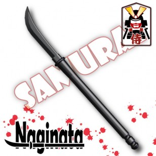 Minifigcat NagiNata (Pole weapon) - BLACK