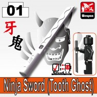 Ninja Sword (Tooth Ghost) - WHITE