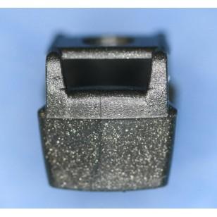 Minifigcat Ninja Vest (A) - Metallic Speckle Silver