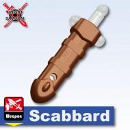 Minifigcat Scabbard - LIGHT SILVER