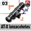 Minifigcat AT-X - BLACK