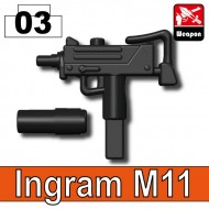 Ingram M11 - BLACK