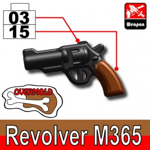Revolver M365 (overmold) - Black+Brown