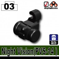 Minifigcat Night Vision(PVS-14) - BLACK