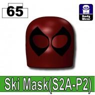Deep Dark Red_Ski Mask(S2A-P2) - Deep Dark Red (Deadpool alike)