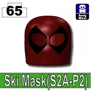 Deep Dark Red_Ski Mask(S2A-P2) - Deep Dark Red (Deadpool alike)