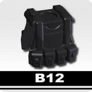Minifigcat B12 VEST - BLACK