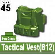 Minifigcat B12 VEST - IRON GREEN
