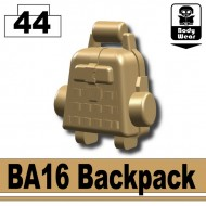 Minifigcat BA16 Backpack - DARK TAN 2