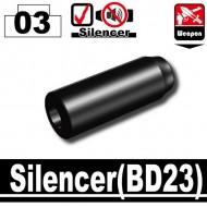 Minifigcat BD23 SILENCER - BLACK