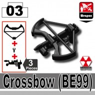 Minifigcat BE99 CROSSBOW - BLACK