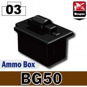 Minifigcat BG50 Ammo Box - BLACK