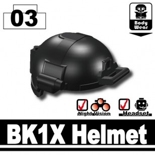 Minifigcat BK1X HELMET - BLACK