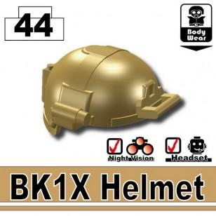 Minifigcat BK1X HELMET - DARK TAN