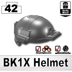 Minifigcat BK1X HELMET - IRON BLACK