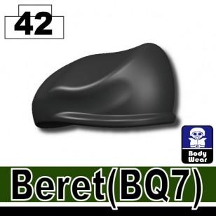Minifigcat BQ7 Beret - IRON BLACK