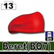 Minifigcat BQ7 Beret - RED