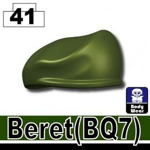 Minifigcat BQ7 Beret - TANK GREEN