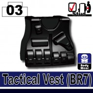 Minifigcat BR7 Tactical Vest - BLACK