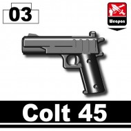 Minifigcat COLT .45  - BLACK