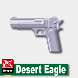 Minifigcat DESERT EAGLE - Light Silver