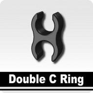 Minifigcat Double C Ring - Black