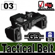 Minifigcat G3 Tactical Belt - BLACK