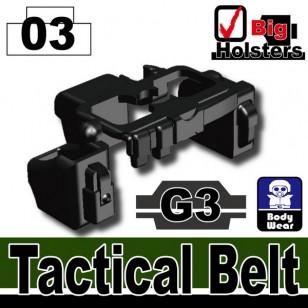 Minifigcat G3 Tactical Belt - BLACK