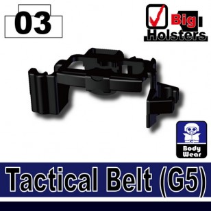 Minifigcat G5 Tactical Belt - BLACK