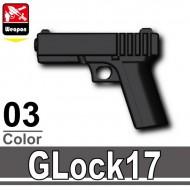 Minifigcat GLOCK 17 - BLACK