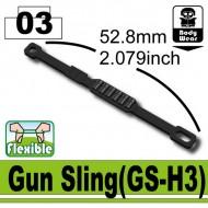 Minifigcat GS-H3 Gun Sling - BLACK