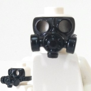 Minifigcat GS00 CA3 MASK - BLACK