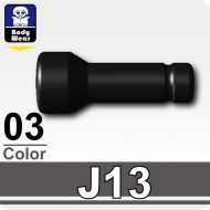 Minifigcat J13 Flashlight - Black