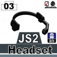 Minifigcat JS2 Headset - BLACK