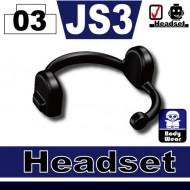 Minifigcat JS3 Headset - BLACK