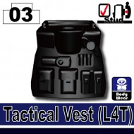 Minifigcat L4T Tactical Vest - BLACK