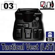 Minifigcat L4T Tactical Vest - BLACK