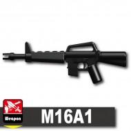 Minifigcat M16A1 - BLACK