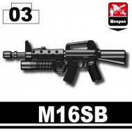 Minifigcat M16SB - BLACK