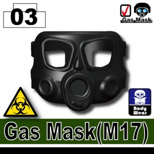 Minifigcat M17 Gas Mask - BLACK